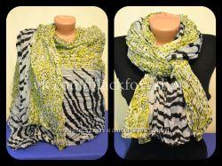 Объемный весенне-летний шарф