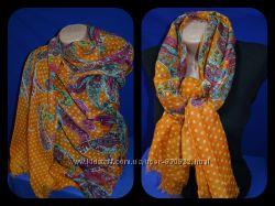 Яркие Парео-шарфы