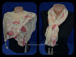 Шелковый шарф Жемчужина