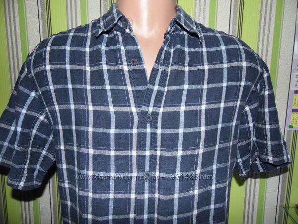 Рубашка в клеточку - Marks&Spenser - M - 46-48 размер