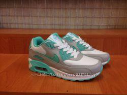 Женские кроссовки Nike Air Max 90 кожаные