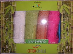 Бамбуковое полотенце Турция Cotton Castillo 3050 Упаковка 6 шт