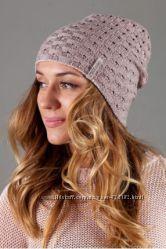 Двухсторонняя  шапочка  шерсть цвета