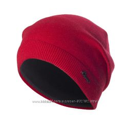 Теплая красивая на флисе шапочка шерсть цвета
