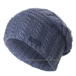 Очень женственная шапочка-колпак крупной вязки цвета