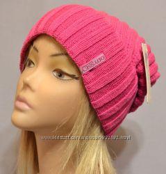Удлиненные стильные шапочки разные модели шерсть цвета