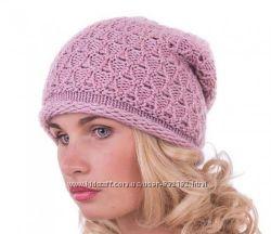 Стильная шапочка   люрекс шерсть  расцветки
