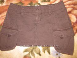 Вельветовая мини юбка GAS