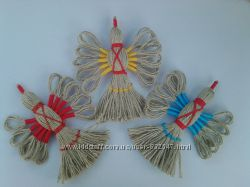 Кукла-оберег --- Птица счастья--- Подарок. Handmade. Ручная работа