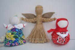 Подарок-оберег в дом. Кукла-мотанка. Handmade.