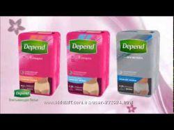 Впитывающее белье для мужчин и женщин, трусики Depend M, L, XL Поштучно