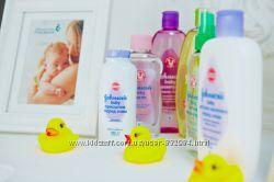 Шампунь пенка присыпка масло крем Johnson&acutes baby