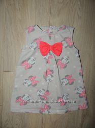 Красивое платье с Минни Disney 9-12 месяцев
