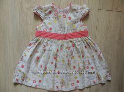 Красивое летнее нарядное платье TU 9-12 месяцев