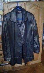 Кожаная куртка Турция оригинал отличное состояние