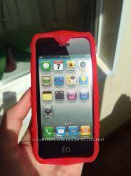 Яркий неоновый бампер для IPHONE 5 5S
