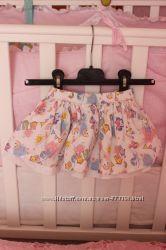 Красивейшая юбочка для девочки от George на 3мес