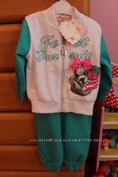Модный спортивный костюм Miss Brum Италия 12м, 74