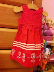 Платье девочке Mothercare 3-6 мес
