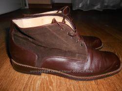 Стильные туфли, ботинки Immagini 36, 5размер. 23, 5см. Кожа. Замша. Италия.