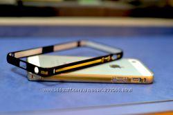 Металлические ультратонкие и прочные бампера IPhone 6, iPhone 5, iPhone 4