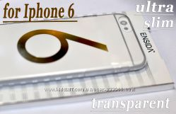 Тонкий прозрачный эргономичный чехол  ENSIDA  IPhone 6 Crystal 0. 5 mm