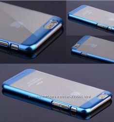 Накладка ультратонкая металлизированная  Joyroom for iPhone 6