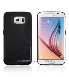 Защитный силиконовый чехол - накладка для Samsung Galaxy S6