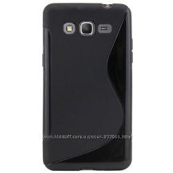 Защитный силиконовый чехол - накладка для Samsung Grand 3