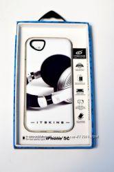 Яркие качественные фирменные чехлы  iTSkins Phantom Case for iPhone 5C