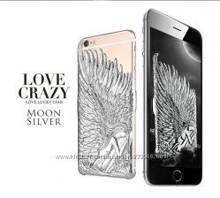 Чехол Крылья Ангела LOVE CRAZY для Iphone 6 и Iphone 6 S