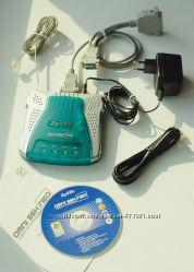 Факс-модем ZyXEL omni 56k neo, полный комплект