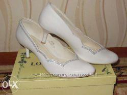 Свадебные туфли 39р