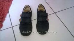 Кожаные туфли синие Германия