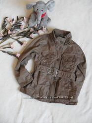 Стильный плащ ZARA для маленькой модници-118рост