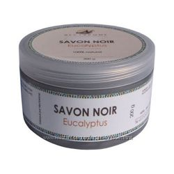 Гоммаж бельди с эвкалиптом Nectarome черное мыло  Марокко органика.