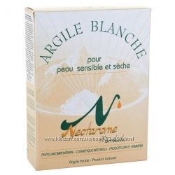 Nectarome Белая глина, маска для лица  Argile banche, 300 г