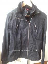 Легкая коттоновая курточка косуха