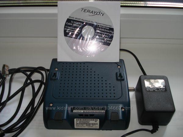 Модем Terayon TJ716Х  от провайдера Воля-кабель.