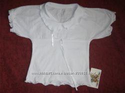 Белая Блуза Новая девочка р. 32-34, 100 Cotton. продам Хорошее Качество.