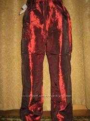Теплые Новые штаны, брюки Девочка на  флисе р-ры 22 - 28