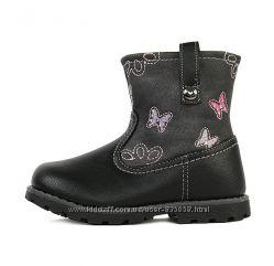 Сапожки, ботинки еврозима на девочку, размер 24, 25
