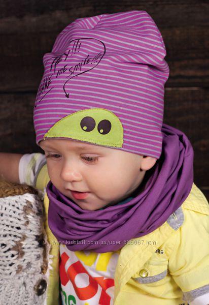 Весенние шапочки и комплекты ТМ Dembohouse для мальчиков