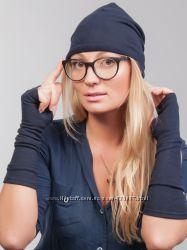 Женские весенние шапки из трикотажа