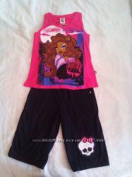 Летний костюм на девочку Дракулаура на 8-11 лет