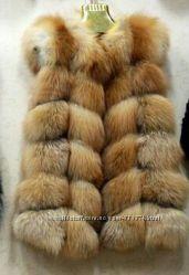 Жилетки из лисы
