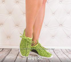 кроссовки тканевые