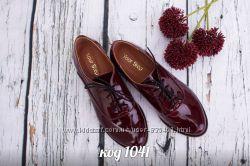 туфли из натуральной лаковой кожи