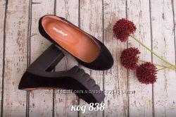 туфли из натуральной замши
