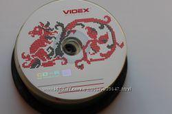 Диск CD-R  Videx, 700Mb80min, 52X